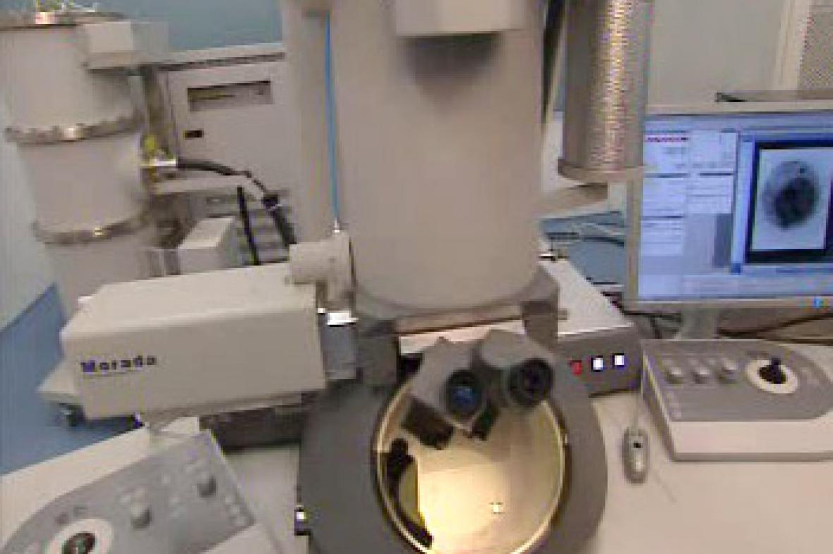 Elektronový mikroskop Tecnai T20