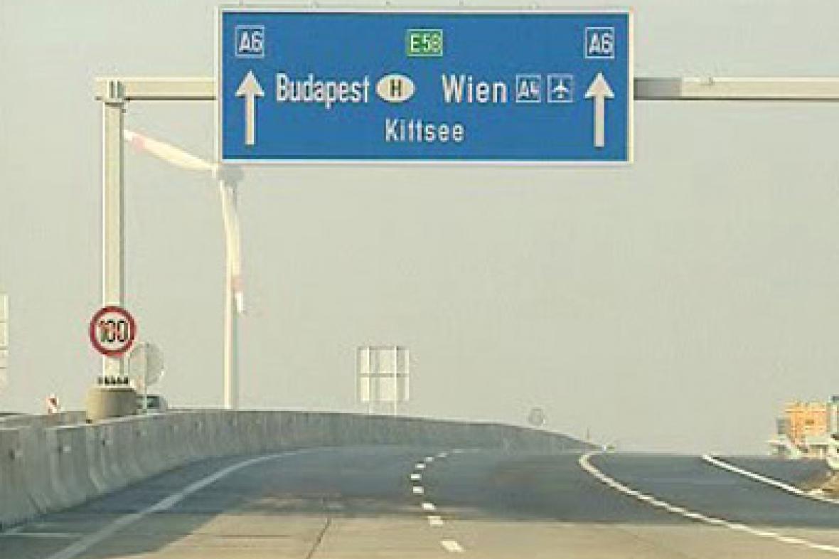 Nový úsek dálnice v Rakousku