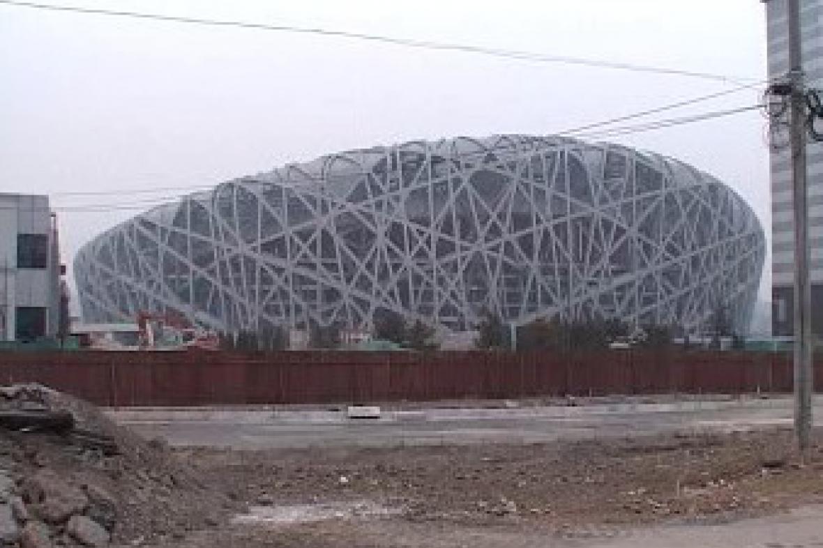 Výstavba nového olympijského stadionu