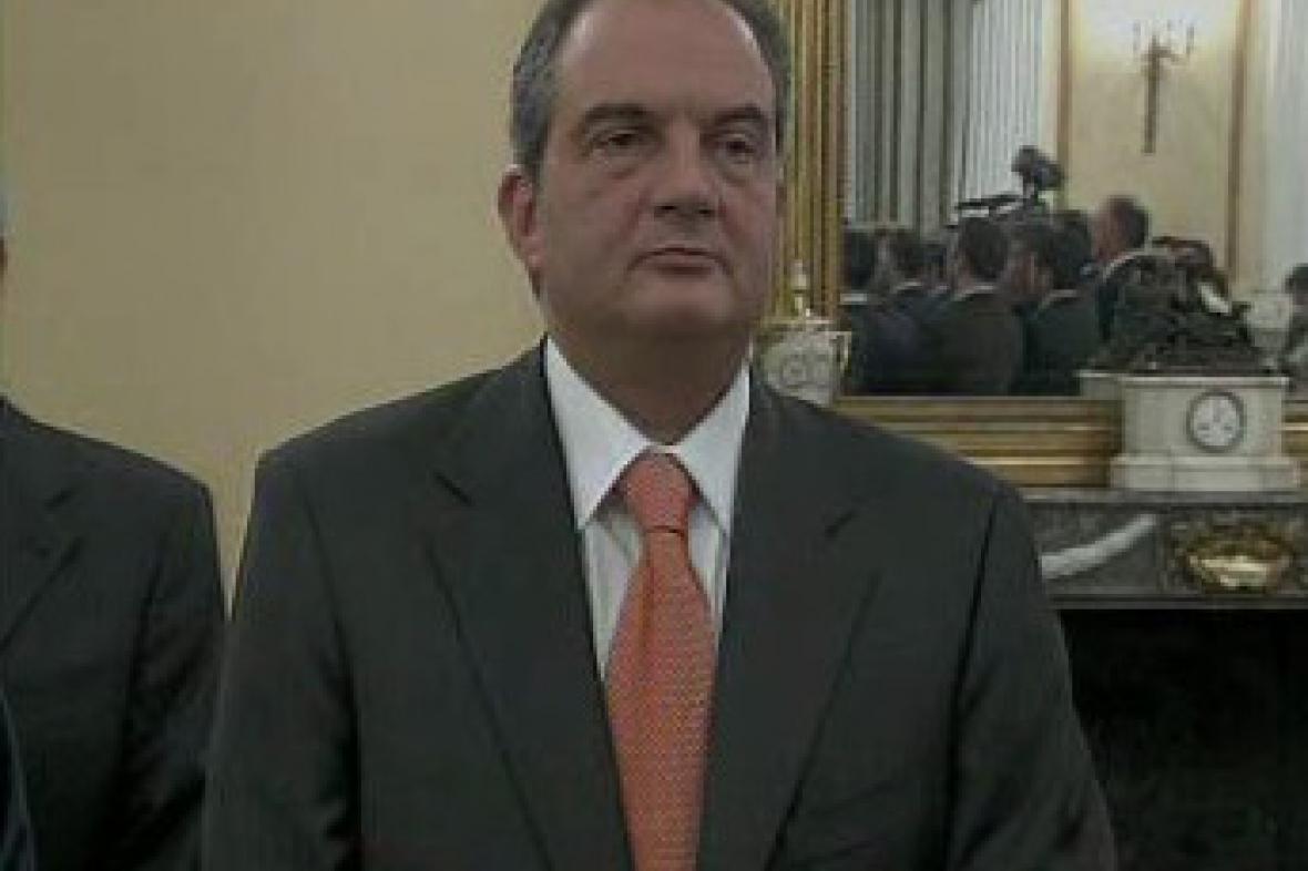 Kostas Karamanlis - řecký premiér