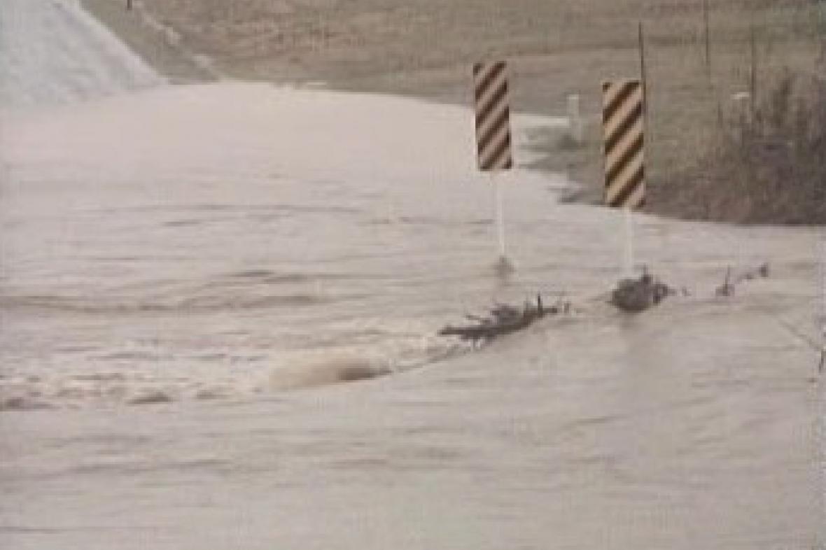 Záplavy v USA