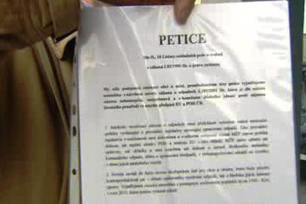 Petice proti novele zákona o odpadech