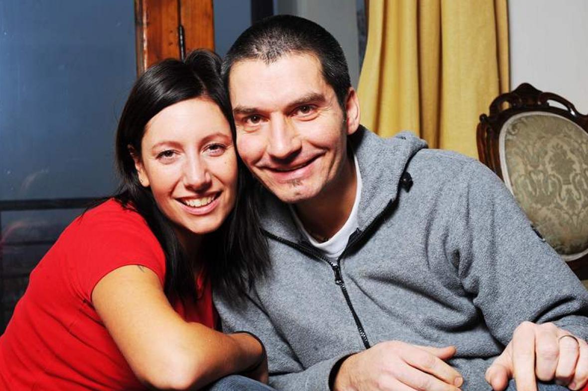 Irena Neffová s manželem