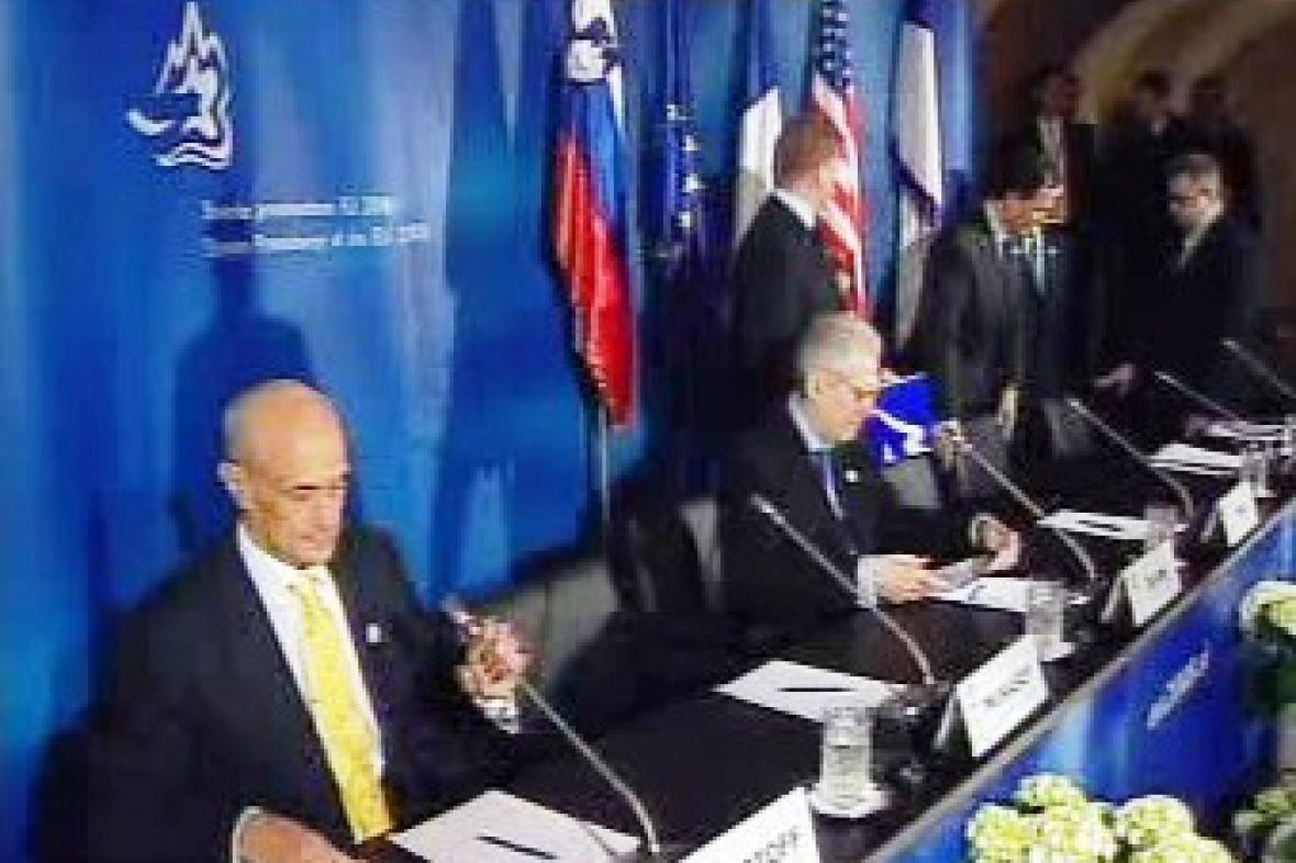 Jednání EU a USA ve Slovinsku
