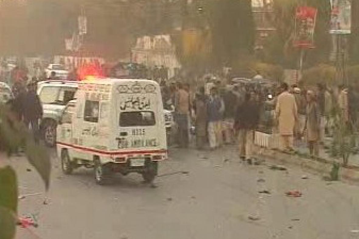 Výbuch v Pákistánu