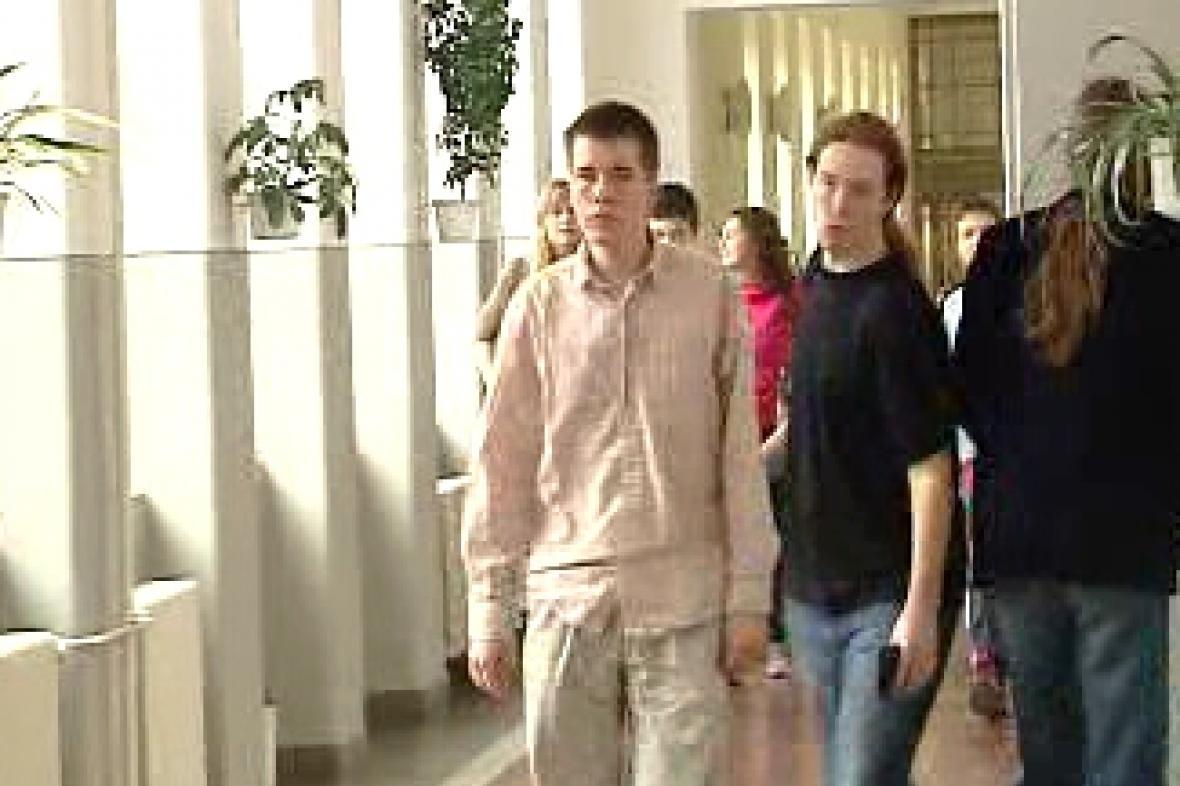 Studenti ve škole