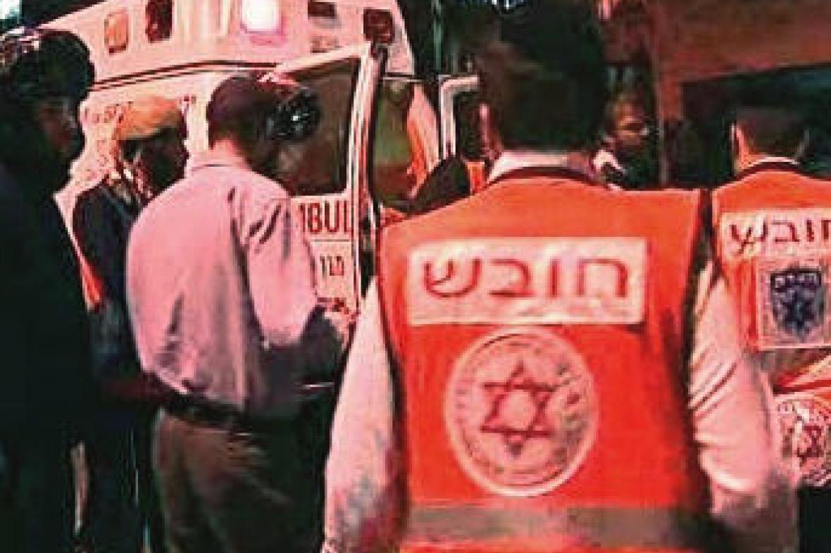 Izraelští záchranáři
