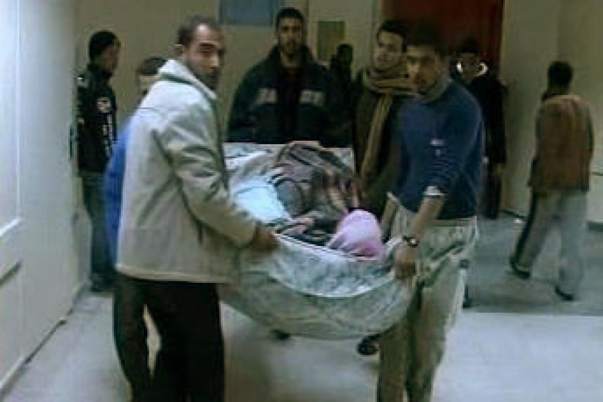 Oběť výbuchu na Blízkém východě