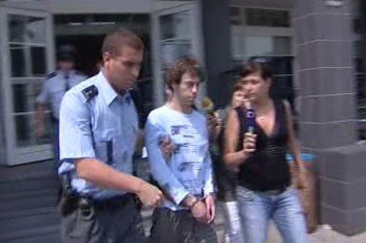 Obviněný Miroslav Rittich