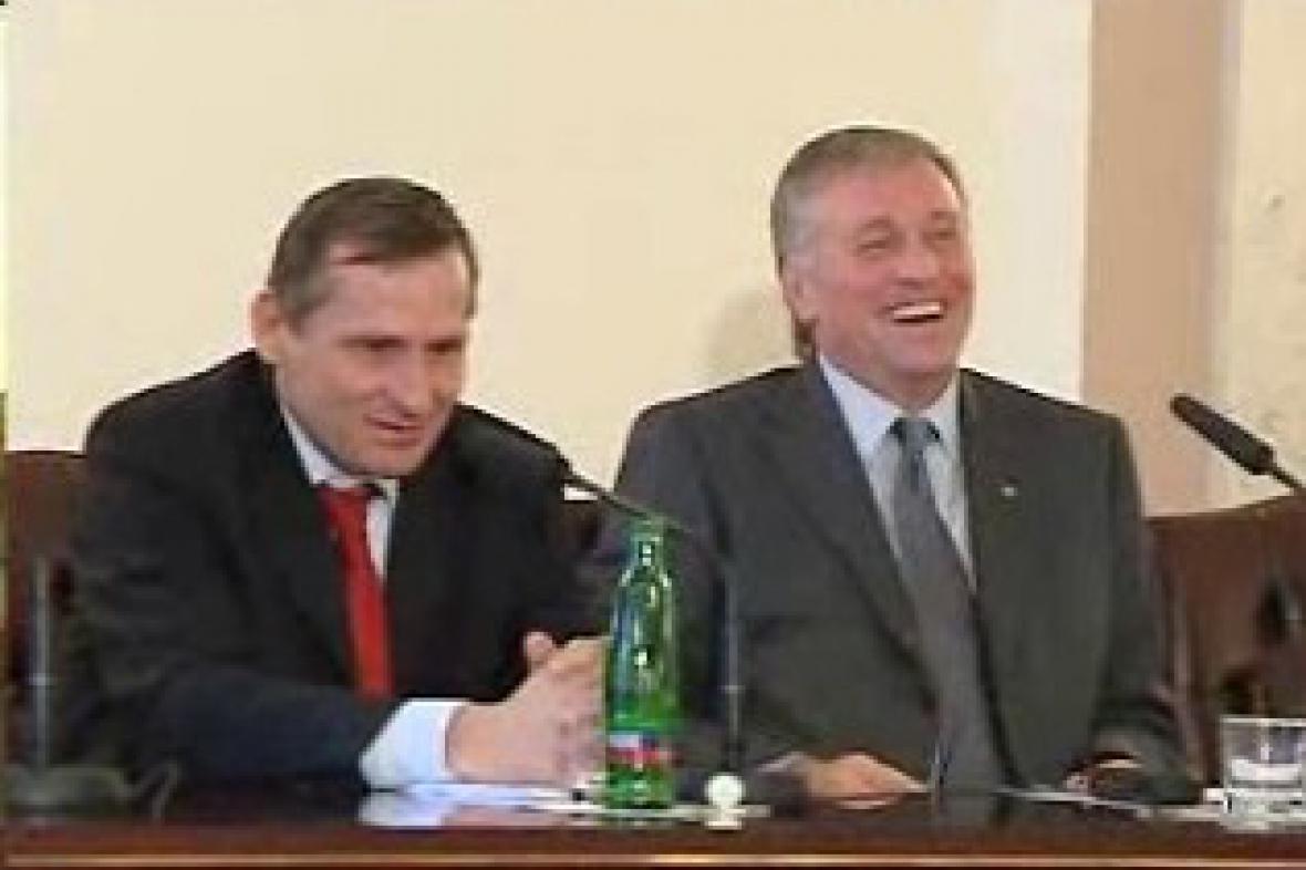 Jiří Čunek a Mirek Topolánek