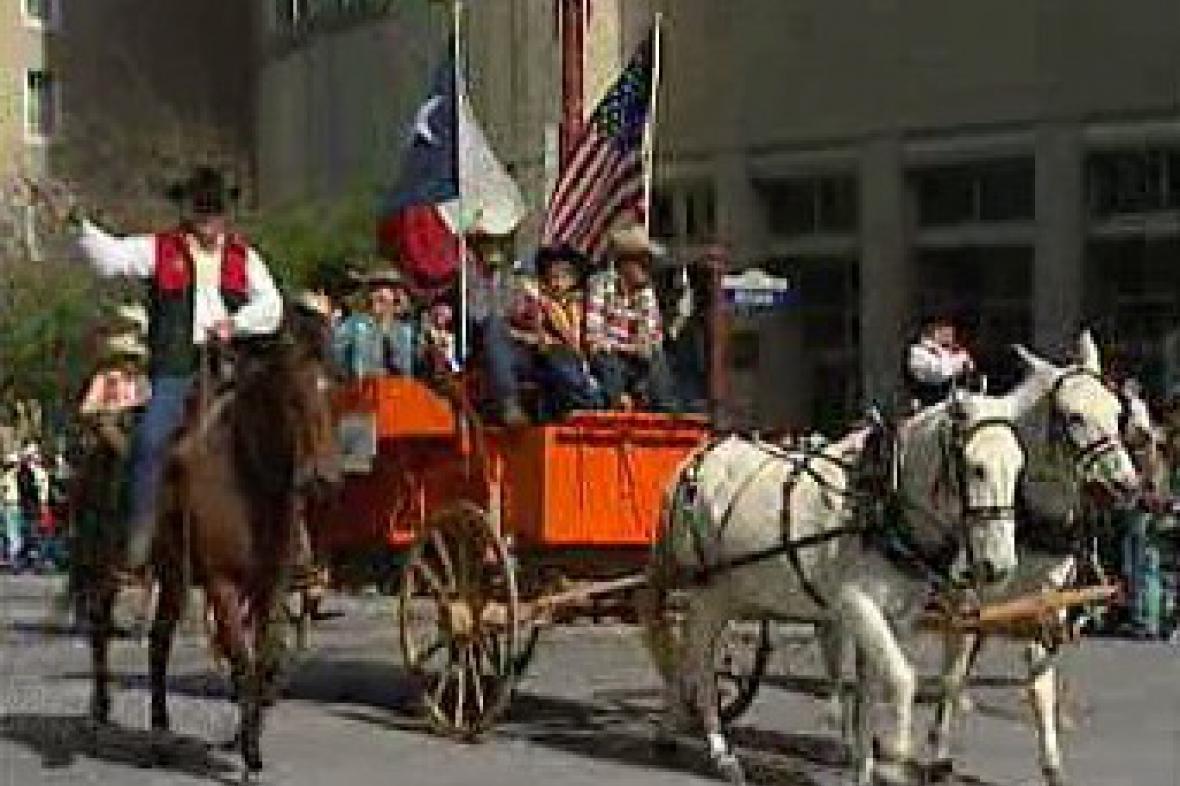 Houstonská jízda