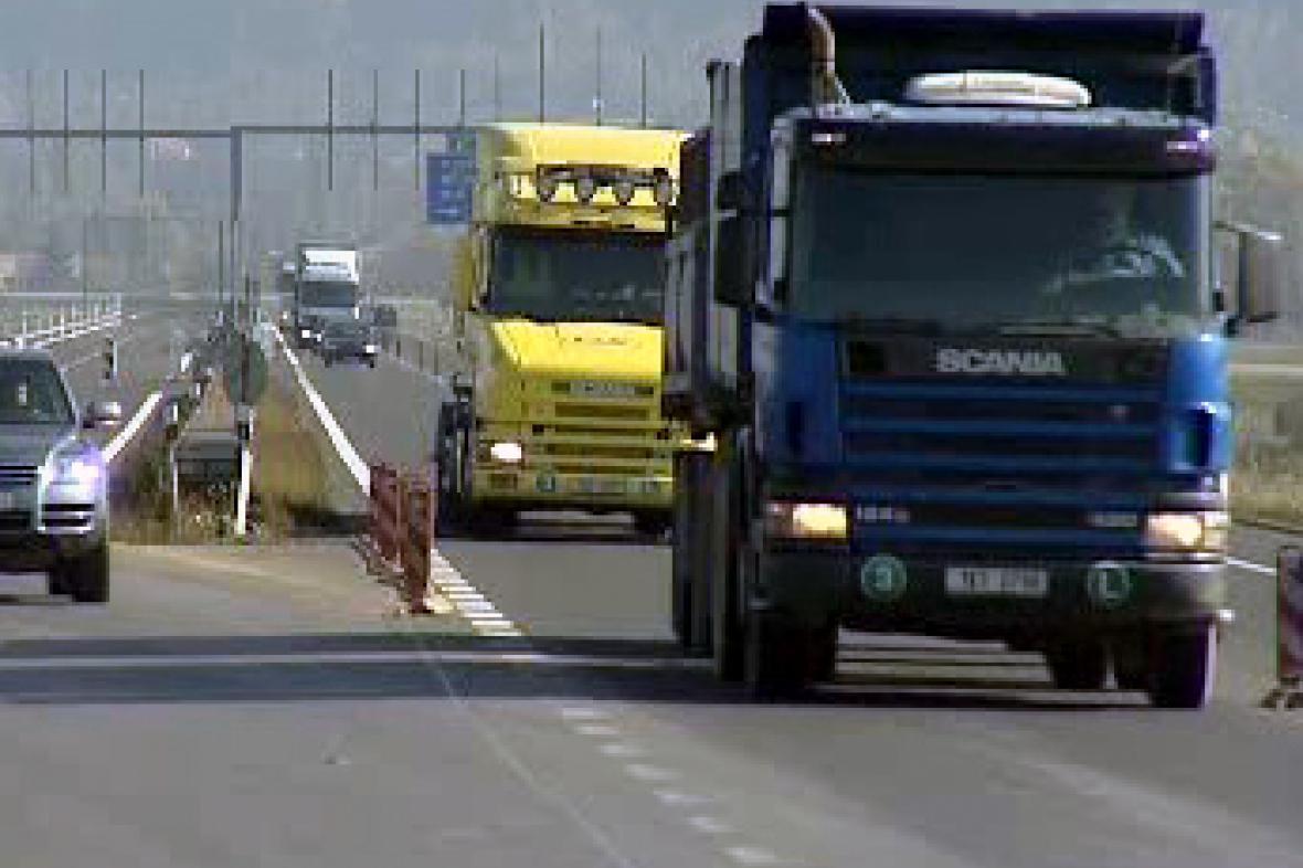 Nákladní doprava na Karlovarsku