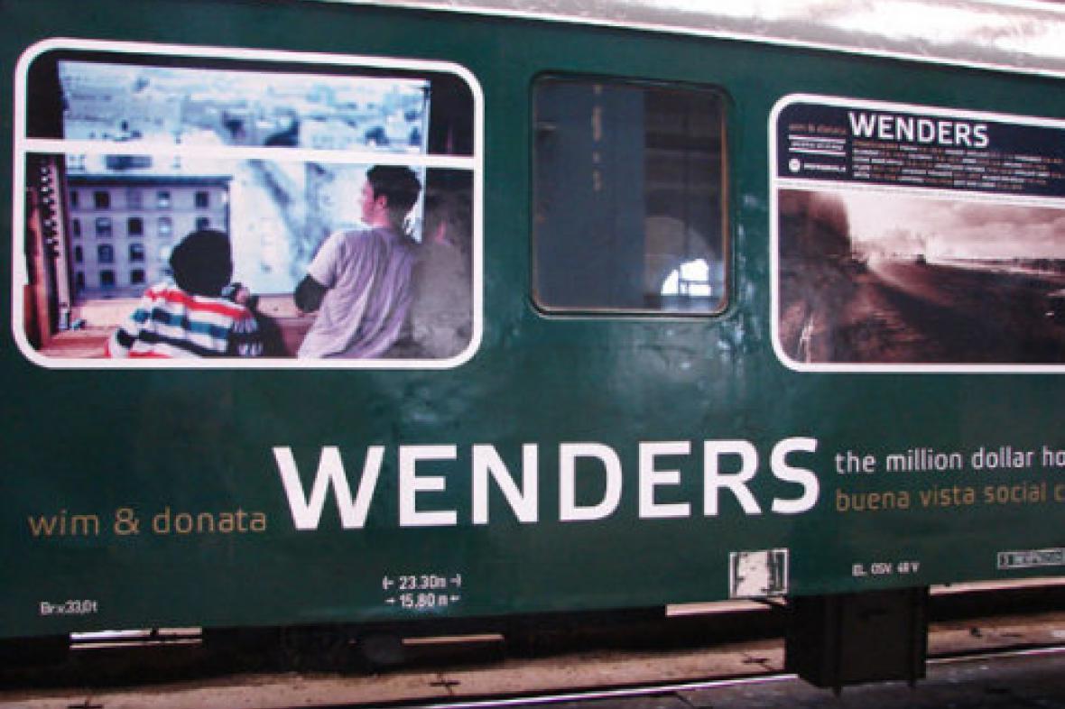Galerie ve vlaku