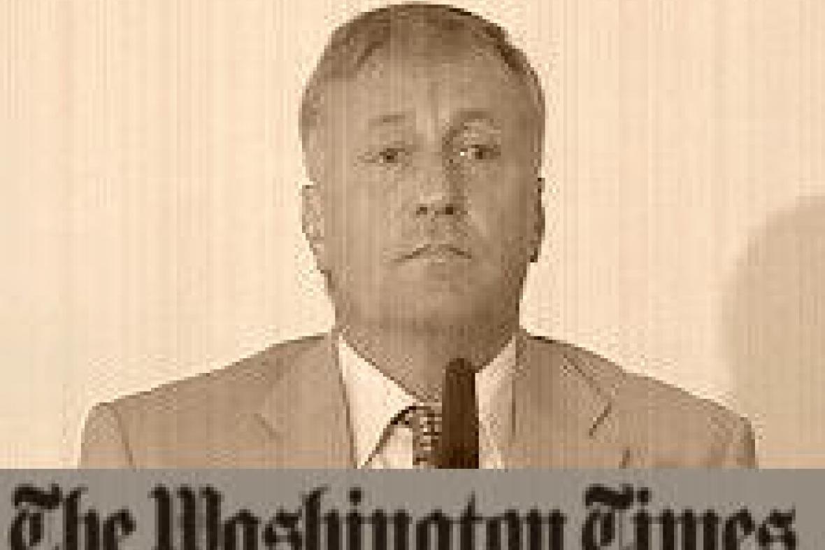 The Washington Times o Topolánkovi