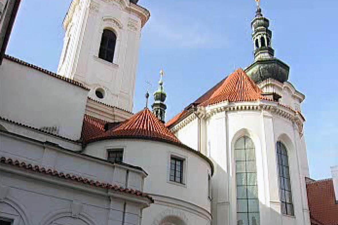 Věže strahovského kláštera