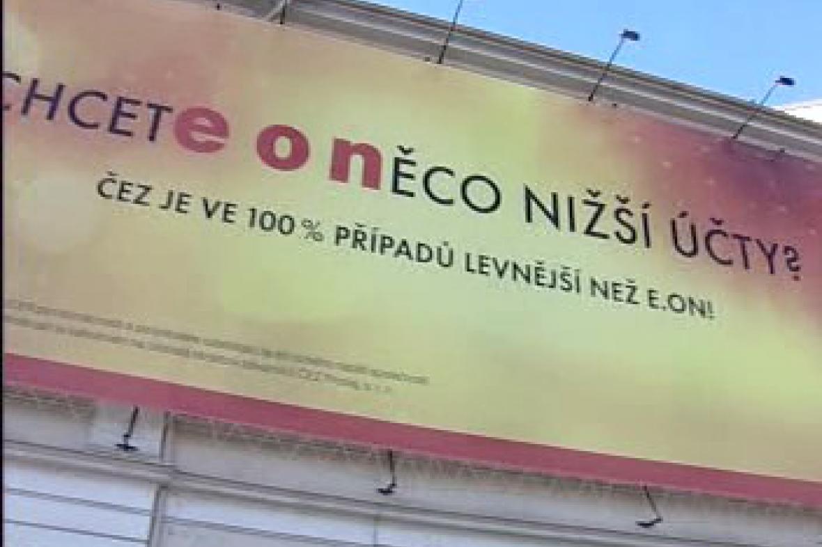 Kampaň společnosti ČEZ