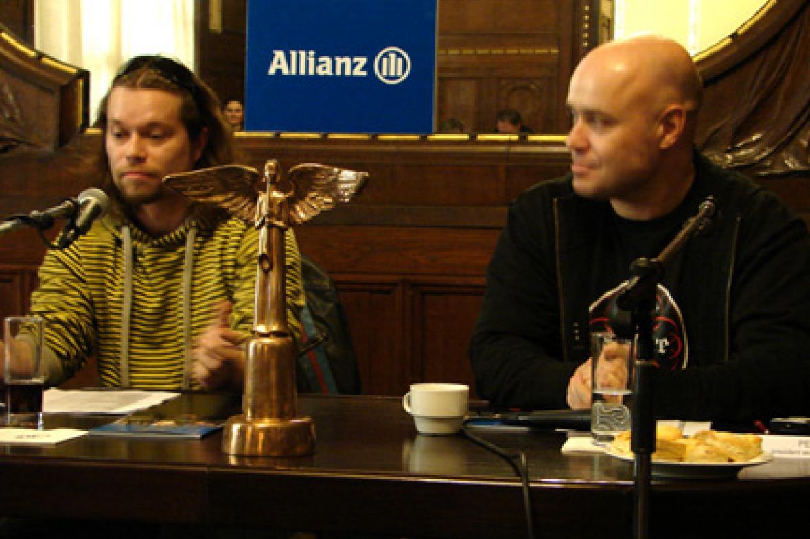 Richard Krajčo a Petr Šiška