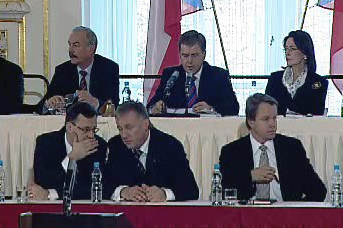 Schůze parlamentu