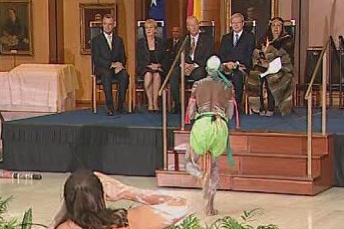 Aboriginové v australském parlamentu