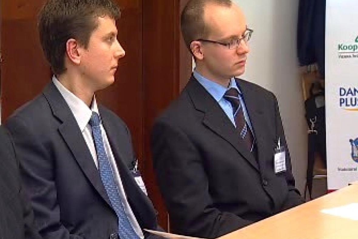 Adam Geršl a Filip Novotný