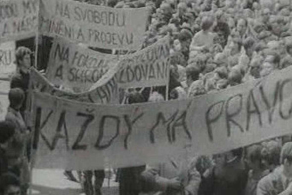 Demonstrace studentů v roce 1967