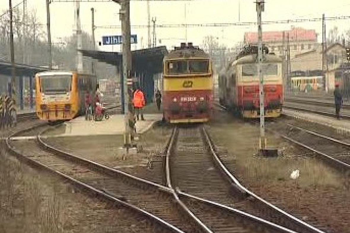 Vlaky na Vysočině