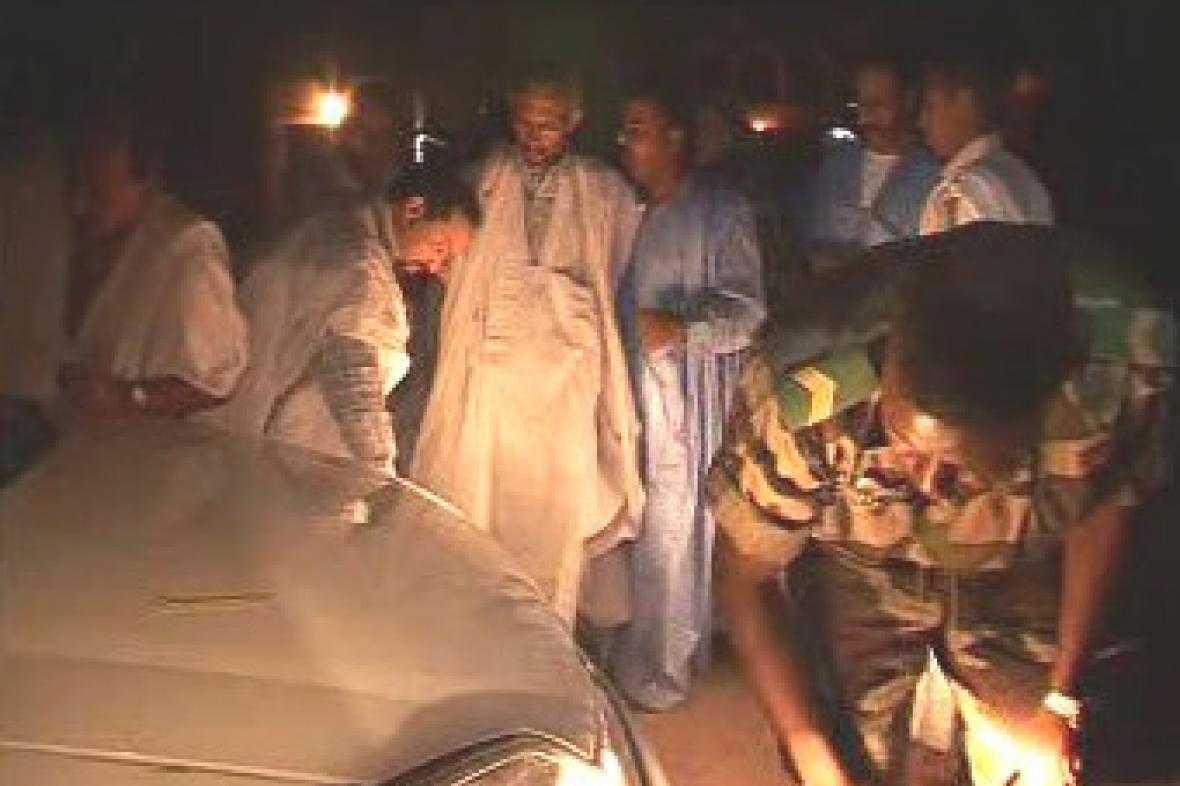 Útok na izraelské velvyslanectví v Mauretánii
