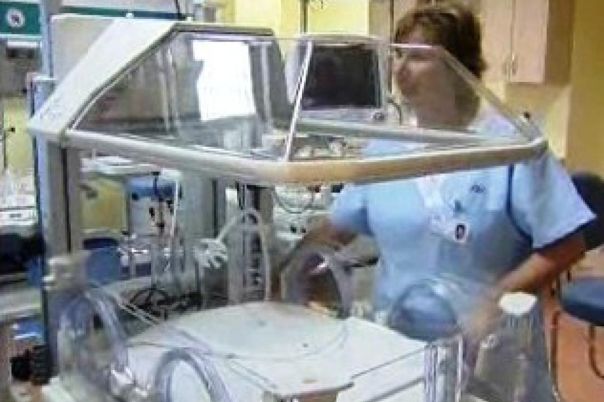 Oddělení nové porodnice v Plzni