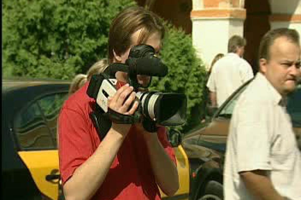 Práce s kamerou