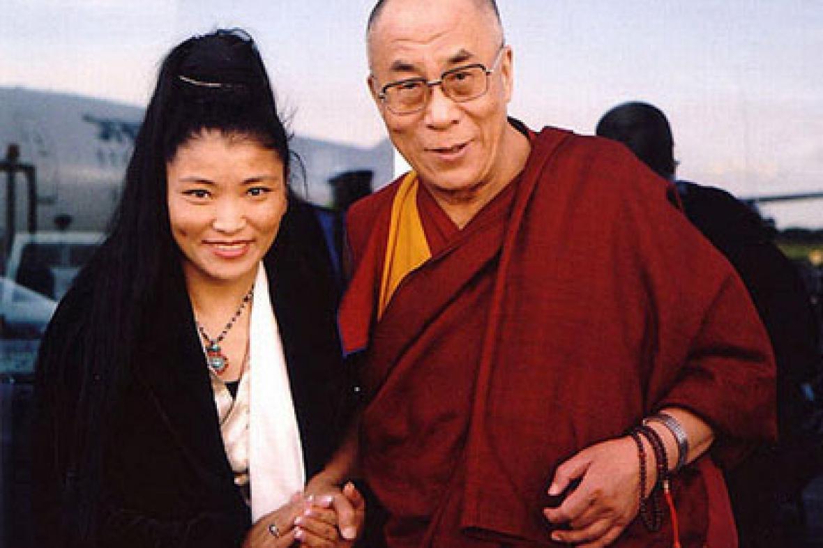 Yungchen Lhamo a dalajláma