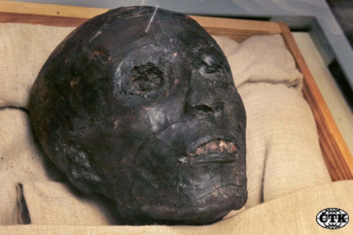 Mumie faraona Tutanchamona