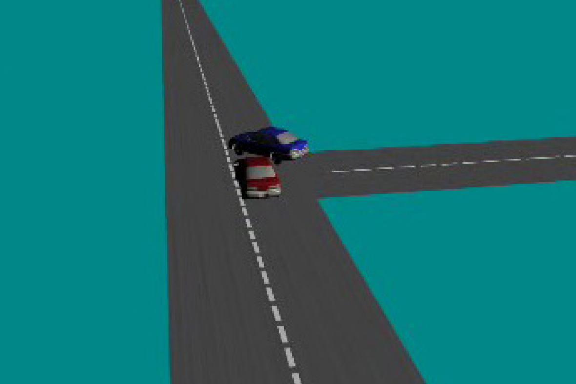 Řidička, která nedala přednost, je bez viny