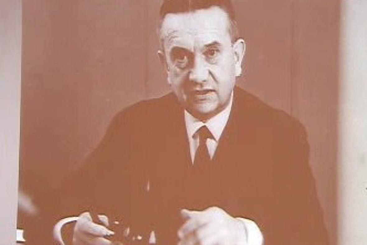 Český lékař Karel Raška