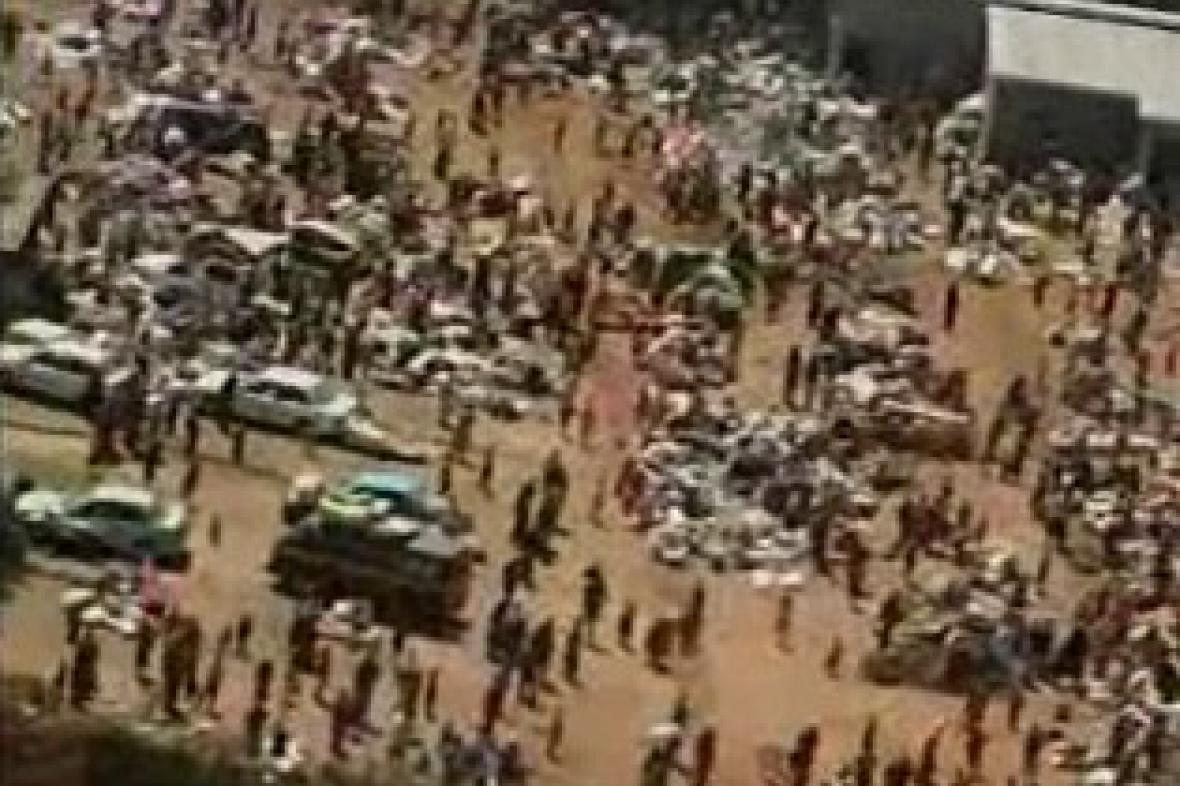 Keňa - lidé bez domova