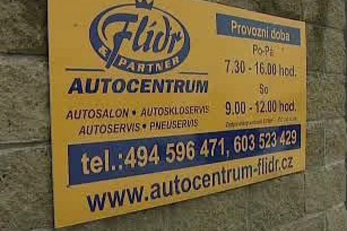 Autocentrum Flídr
