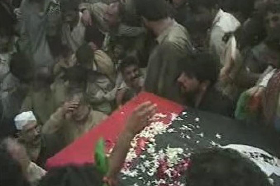 Rakev Bénazír Bhuttové