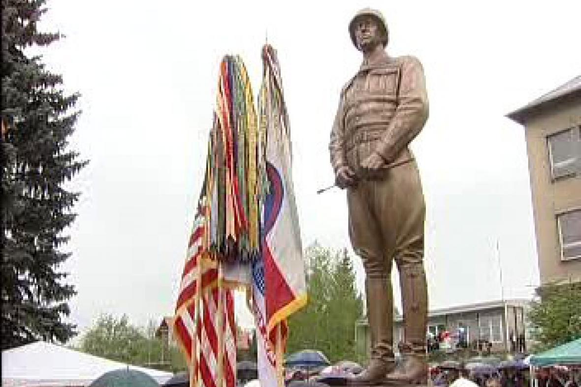 Socha generála Pattona