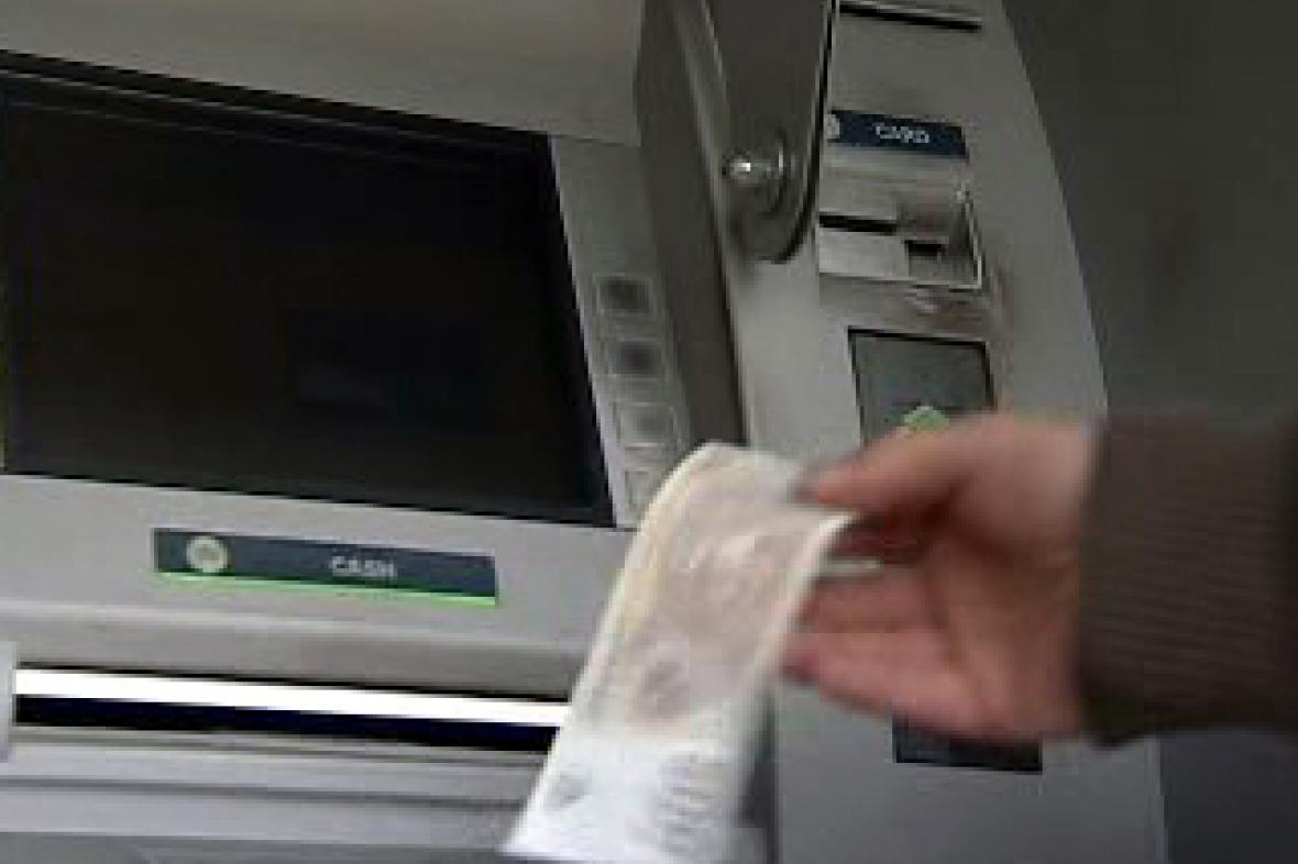 Chybějící bankomat