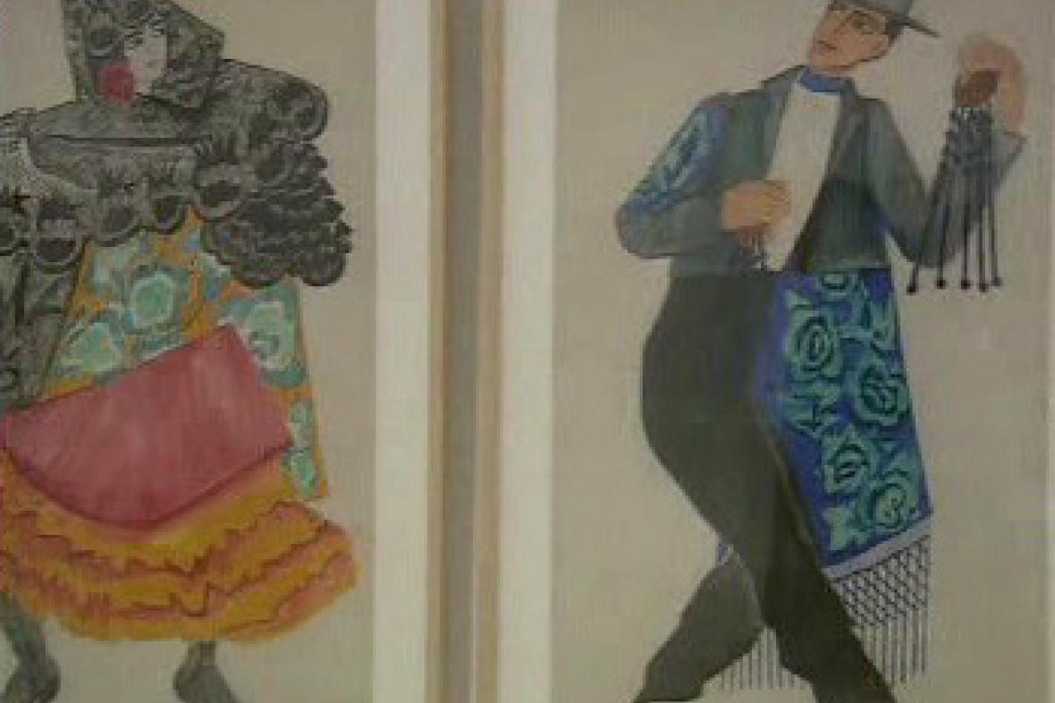 Tanečníci flamenca