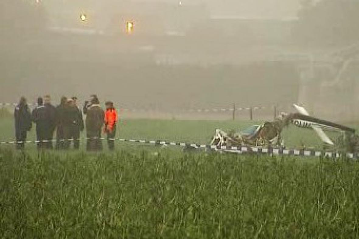 Nehoda vrtulníku