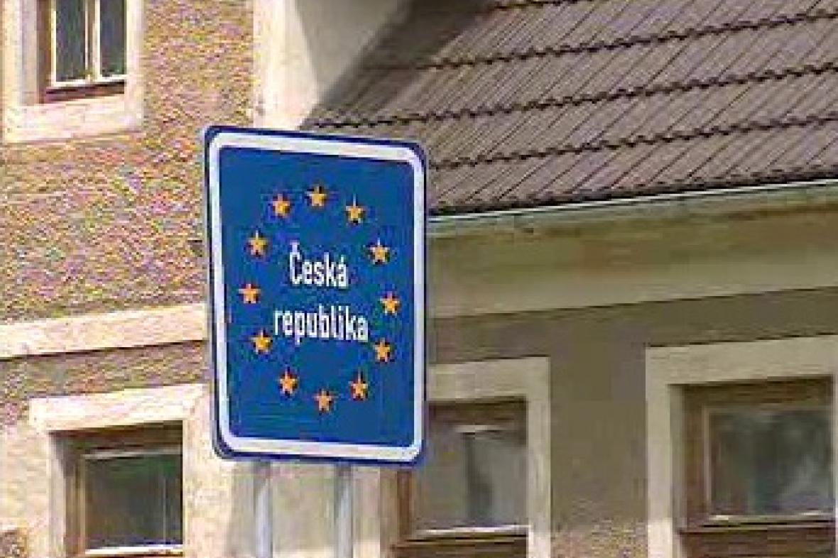 Označení hranic České republiky