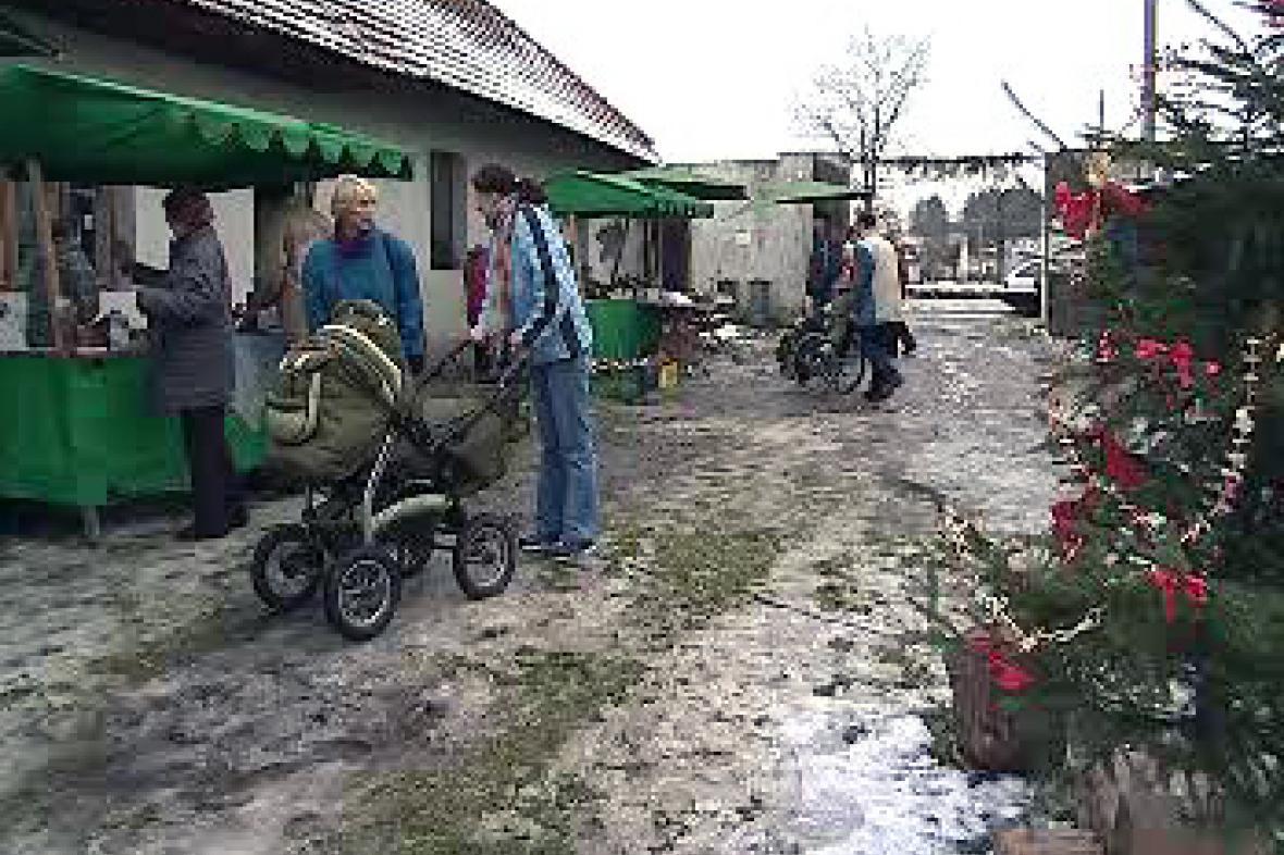 Adventní trh