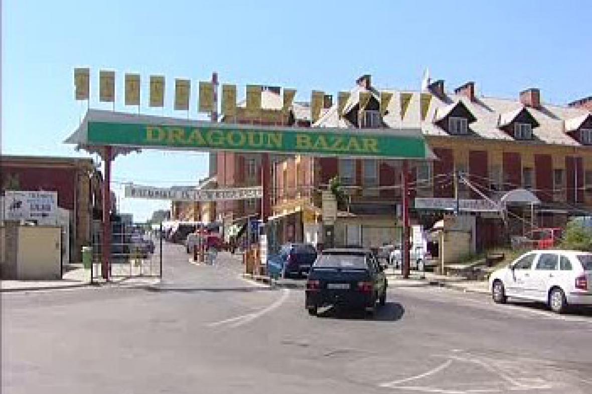 Tržnice Dragoun v Chebu