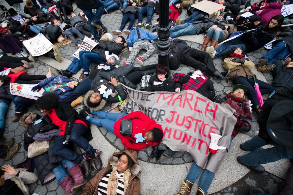 Protest proti policejní brutalitě