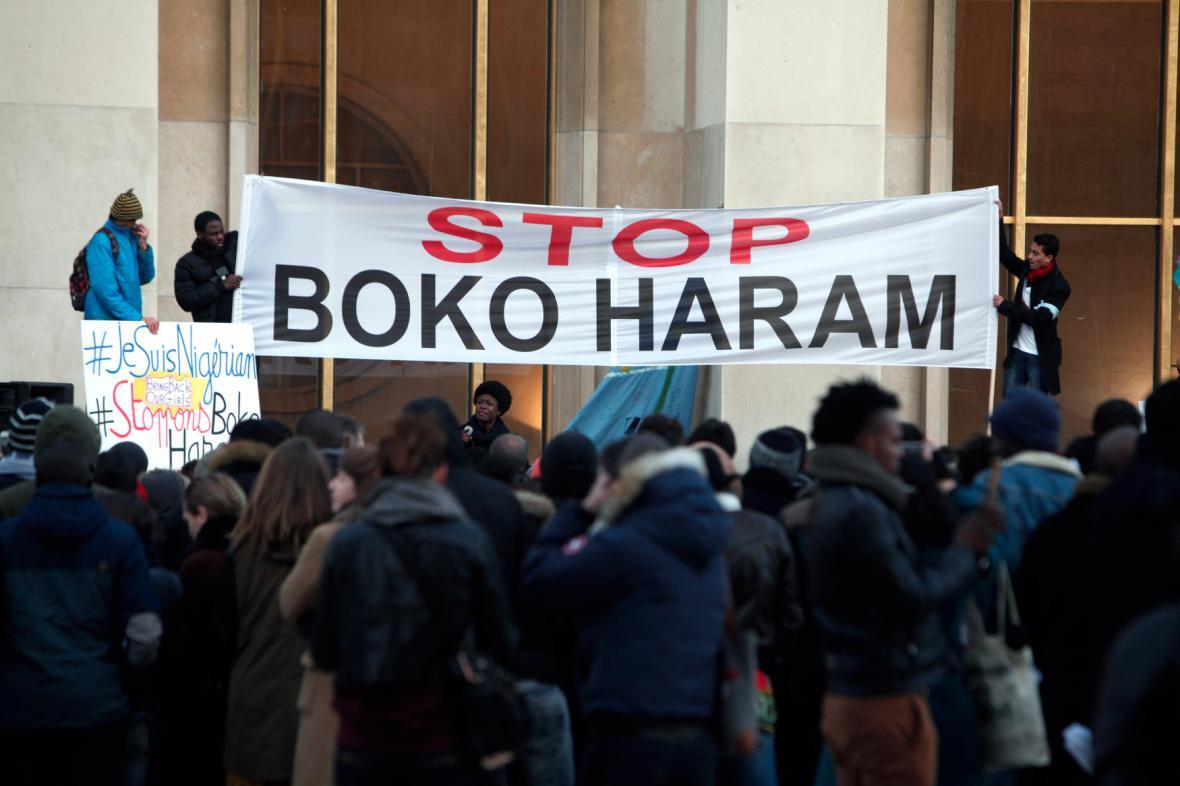 Protest proti Boko Haram