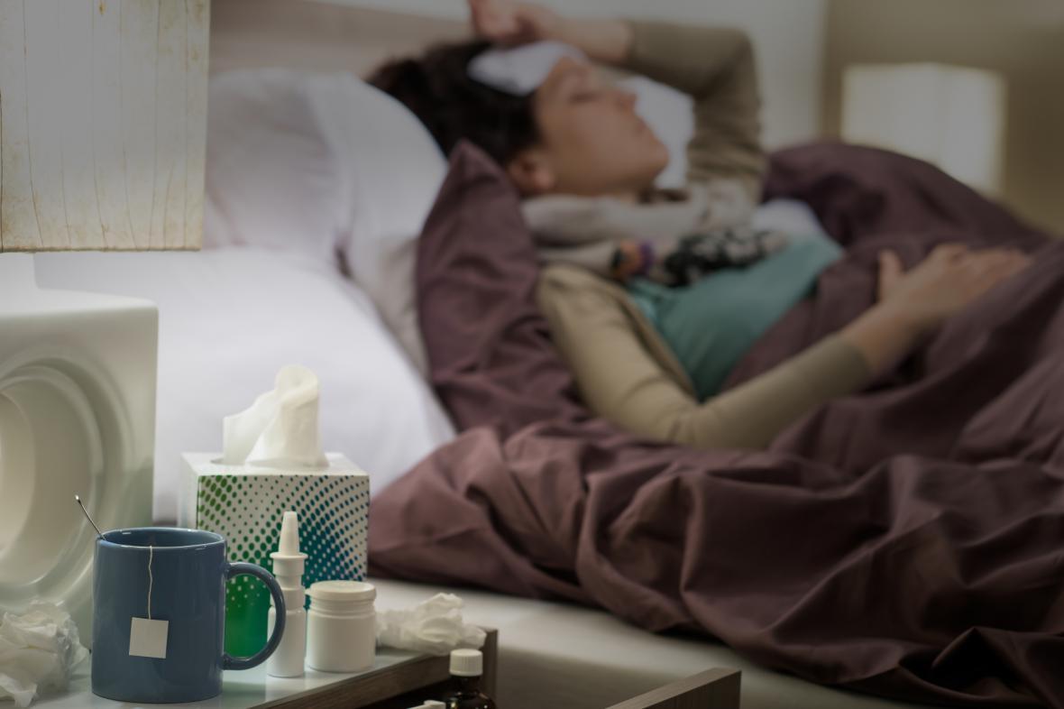 Epidemie chřipky v ČR obvykle začíná v druhé půli ledna