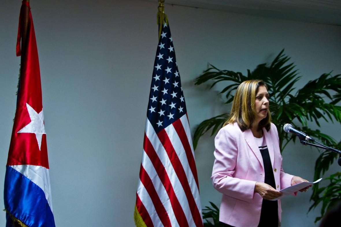Josefina Vidalová Ferreirová z kubánského ministerstva zahraničí