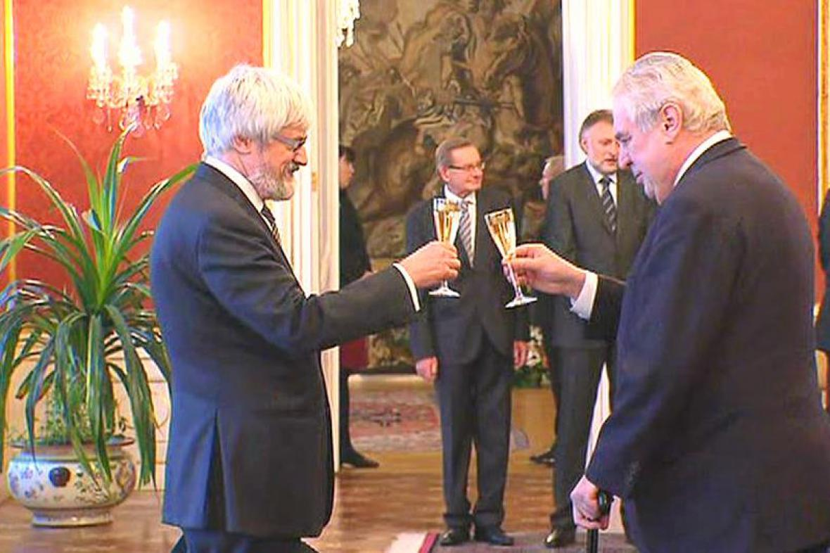 Miloš Zeman a Pavel Šámal