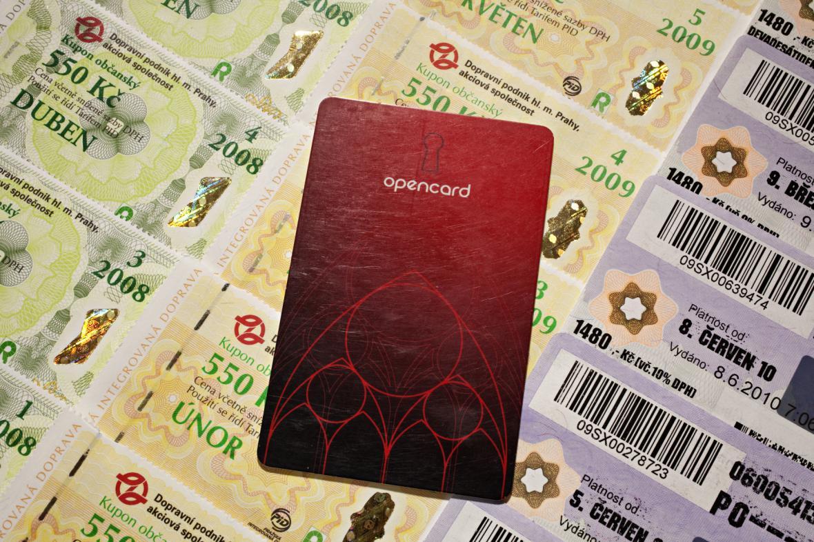 Elektronické a papírové jízdenky