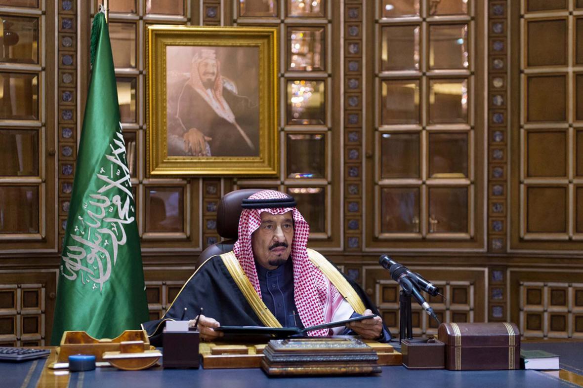 Nový saúdský král Salmán při prvním televizním projevu